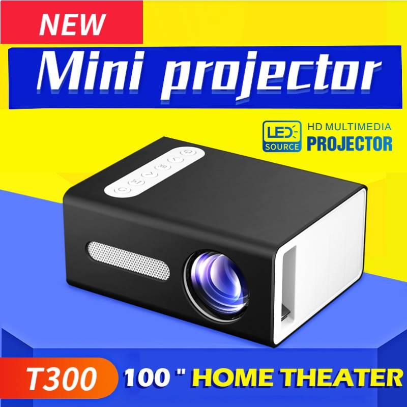 T300 Мини проектор Full-HD 480P проектор WIFI подключение телефон Поддержка 1920x1080P Разрешение проектор 4K Proyector домашний кинотеатр