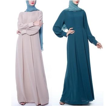 Kaftan Muslim Dress Abaya Islamic Pakistani Arabic Turkish Dresses