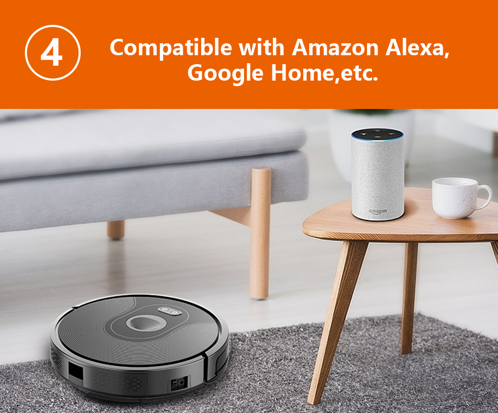H53220271eff44835adc59bbe466d8a5ci ABIR X6 Robot Vacuum Cleaner with Camera Navigation,WIFI APP controlled,Breakpoint Continue Cleaning,Draw Cleaning Area,Save Map