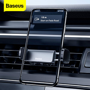 Baseus Phone Holder Car for iPhone 11 Pro X Max Xiaomi Bracket Auto Holder in Car Support Cell Cellphone Mobile Phone Car Holder