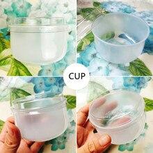 20 шт креативные милые u-образные одноразовые емкости для пудинга 140 мл маленький пластиковый стаканчик вечерние подарки на день рождения мороженое-желе чашка с крышкой