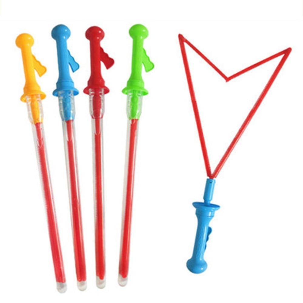 Large Bubble Western Sword Shape Bubble Sticks Kids Soap Bubble Toy Outdoor Toy