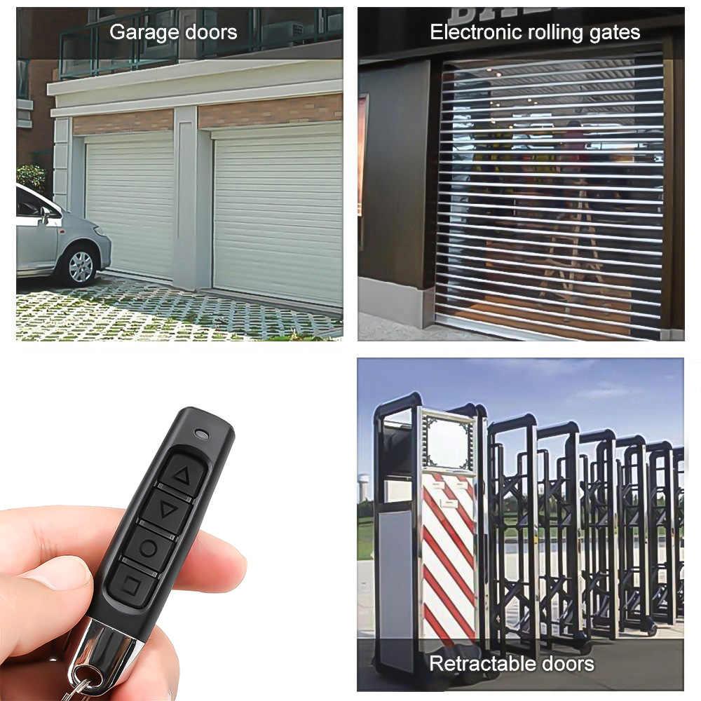 Kebidu télécommande sans fil 433Mhz récepteur Module RF émetteur électrique clonage porte porte de Garage avec porte-clés pour la maison