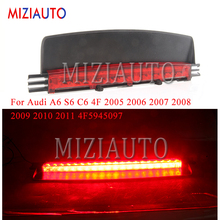 1PCS High Positioned Mount For Audi A6 S6 C6 4F 2005 -2011 4F5945097 Rear Third Brake Light additional stop signal Warning Light flm3135 4f 1pcs