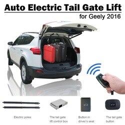 Smart Auto Elettrica di Coda Porta di Sollevamento per Geely Atlas 2016 Unità di Controllo Remoto Sedile Pulsante Set di Controllo di Altezza Evitare Pizzico