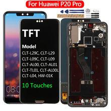 Display Für Huawei P20 Pro LCD Touch Screen Für Huawei P20 P 20 Pro Display Ersatz P20 Pro CLT-L29 L09 l04 AL01 Bildschirm LCD