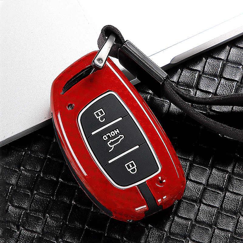 Nova venda quente liga de zinco caso chave do carro capa chaveiro para hyundai tucson creta ix25 i20 10 i30 verna mistra elantra solaris acento
