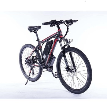 Can choose Samsung battery Upgraded C6 2019 F Electric Mountain Bike 350/500W Tire size: 29 inch Electric Bicycle with 1