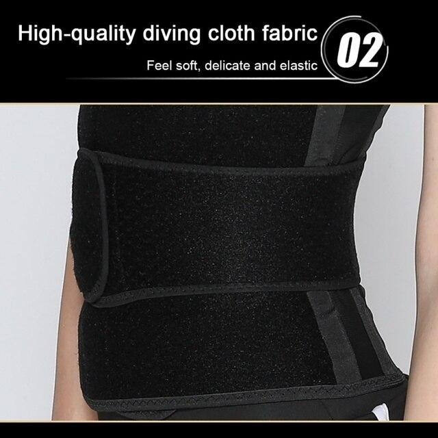 Waist Trainer Women Trimmer Belts Slimming Sheath Tummy Reducing Shapewear Belly Shapers Sweat Body Shaper Workout Belts 2