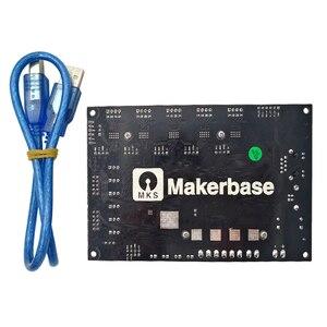 Image 2 - Makerbase MKS SBASE V1.3 32Bit פתוח מקור בקרת לוח תמיכה Marlin2.0 ו Smoothieware הקושחה תמיכה MKS TFT מסך