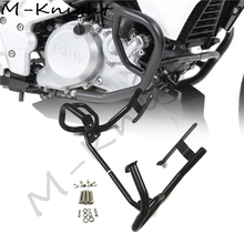 for BMW G310GS 2017 2018 Motorcycle Protector Lower Engine Guard Crash Bars G310R Frame Protection Bumper Mat Black недорого