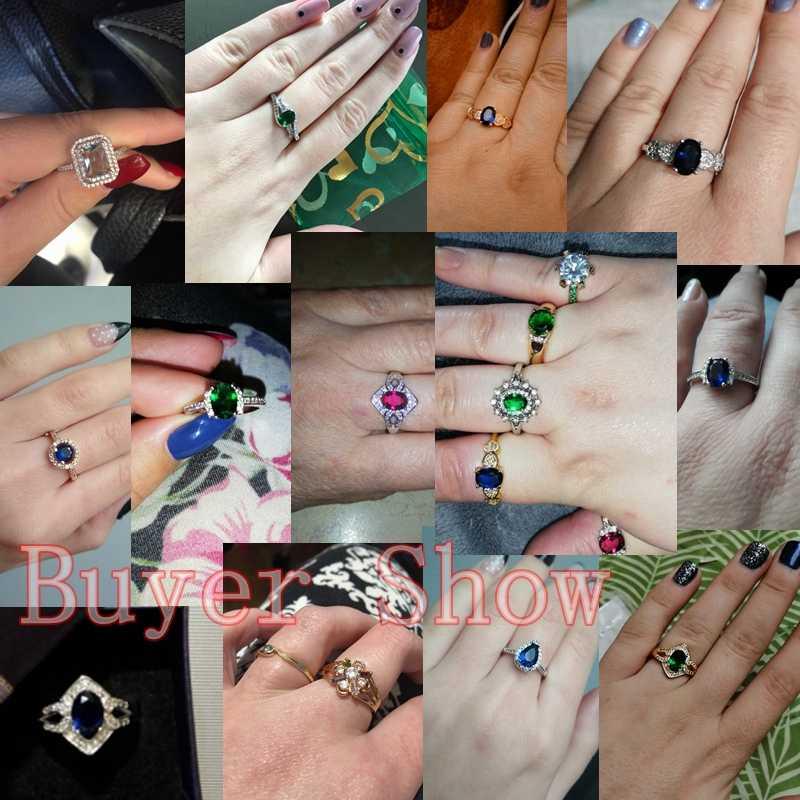 Кольца на палец, опт, ослепительный AAA Цирконий, обручальные кольца для женщин и мужчин, модный подарок, роскошное Ювелирное кольцо