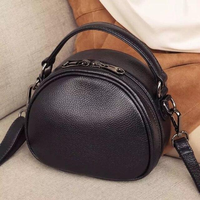 Sac à main en cuir véritable pour femmes, sac à bandoulière Fashion, petit sac à épaule de luxe, Top, fourre tout de soirée