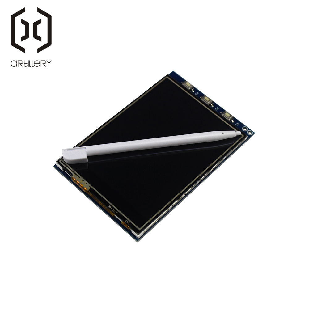 1Pcs <font><b>3.2</b></font> Inch <font><b>LCD</b></font> <font><b>Touch</b></font> <font><b>Screen</b></font> Display Monitor Module For Raspberry Pi 3 B B+ image
