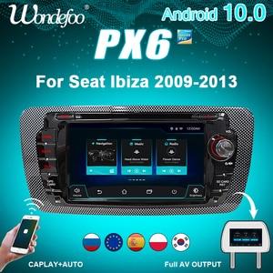Image 1 - PX6 سيارة نظام ذكي 2 الدين راديو أندرويد 10 شاشة ل مقعد إيبيزا MK4 6J 2009 2013 autoradio مشغلات الفيديو الوسائط المتعددة دي في دي