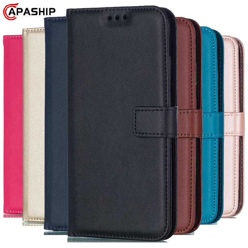 Leather Flip Case Voor Iphone 11 Pro 7 8 Plus 6 6S 5S 4S Xs Max Xr X Cover Voor Samsung S8 S9 S10 S20 Ultra Note 8 9 10 Plus Gevallen