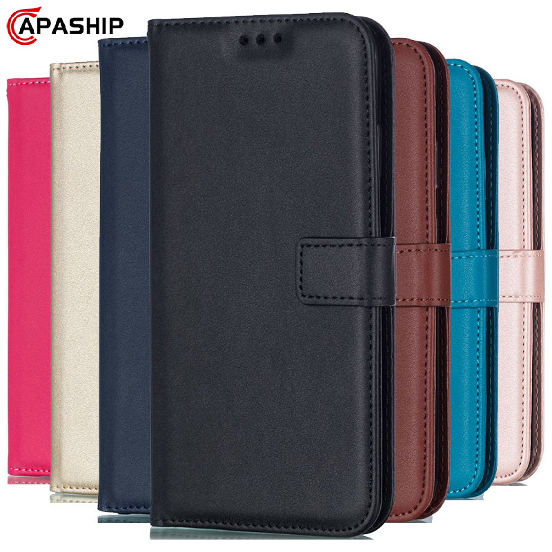 Leather Flip Case For iphone 11 Pro 7 8 Plus 6 6S 5S 4S XS Max XR X Cover For Samsung S8 S9 S10 S20 Ultra Note 8 9 10 Plus Cases
