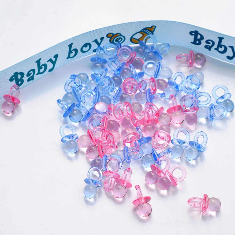 50 sztuk małe diamentowe smoczki koralik dziecko kąski do kąpieli chłopcy dziewczęta na stolik imprezowy dekoracje do gier festiwal zaopatrzenie firm