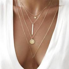 Новинка, модное ожерелье с подвеской в виде цветка розы, Трендовое женское простое ожерелье с подвеской, Brinco, подарок на день рождения, ювелирных изделий