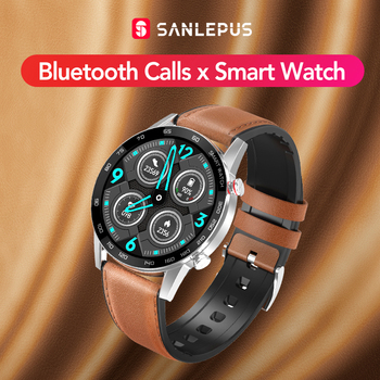 2020 SANLEPUS Bluetooth Calls Smart Watch For Men IP68 Waterproof Smartwatch Health Monitor Android Apple Xiaomi Huawei OPPO - discount item  72% OFF Smart Electronics
