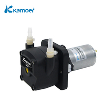 Kamoer KPHM400 12V/24V Brush Motor Peristaltic Pump with Straight Plate, Low Noise Zero-pollution High Flow Rate(420-480ml/min)