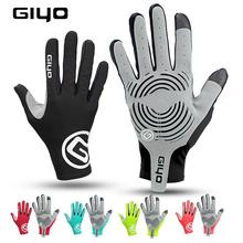 GIYO winter cycling gloves MTB road bike bicycle long full half finger Anti Slip gel touch screen men women fingers