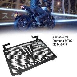 Motocykl chłodnicy Grille pokrywa straż Protector dla Yamaha MT-09 FZ09 FZ-09 FZ 09 2014 2015 2016 2017 akcesoria motocyklowe (Bl