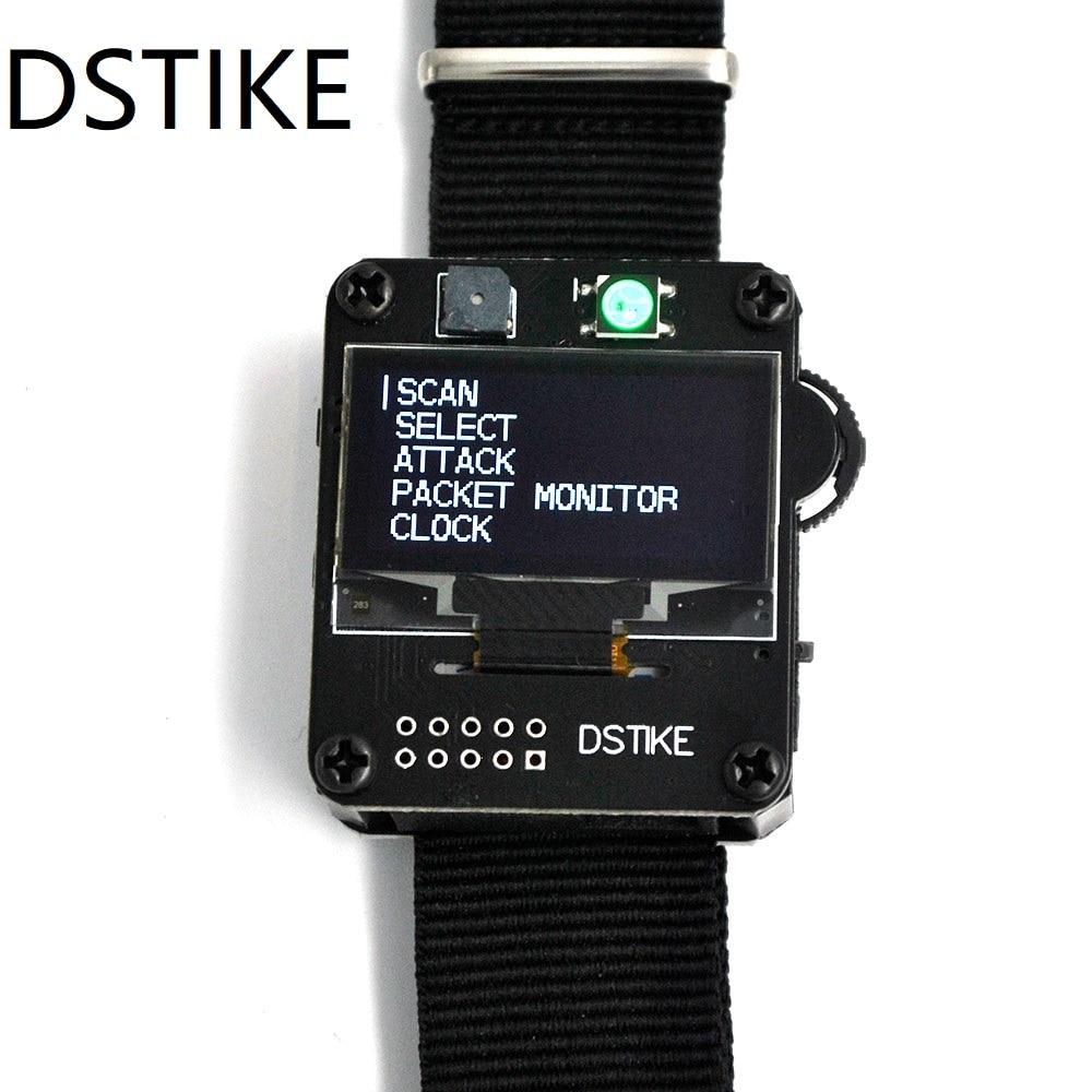 DSTIKE WiFi Deauther Watch V1  Smart Watch  Arduino  NodeMCU   ESP8266 Programmable Development BoardSmart Wristbands   -