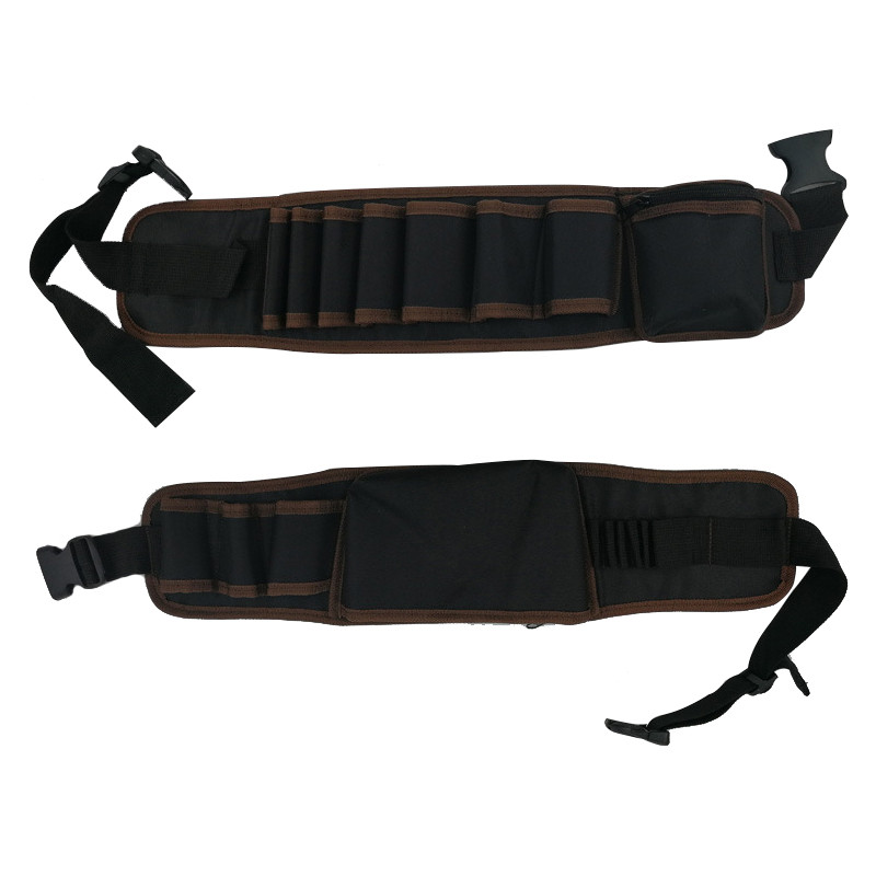 Multi-functional Tool Storage Belt For Electric Tools Wrench Hammer Screwdriver 2 Style Waterproof Drill  Waist Tool Bag