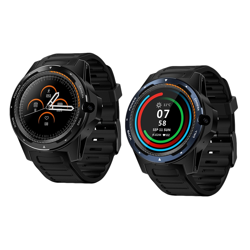 Zeblaze 2Pcs New Flagship Thor 5 Dual System Hybrid Smartwatch 1.39 Inch Aomled Screen 454X454Px 2Gb+16Gb 8.0Mp Front Camera Sma