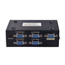 4 порта vga Частотный разделитель 200 Гц видео сплиттер высокая