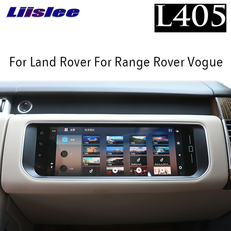 For Land Rover For Range Rover Vogue L405 2012~2019 Liislee Car Co-pilot Multimedia Entertainment LCD Touch Screen 4K HD Display image