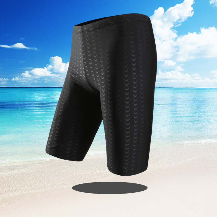 2019 New Style Swimming Trunks MEN'S Swimming Trunks Short Hot Selling Shark Skin Profession Sports Swimming Trunks Men A Genera