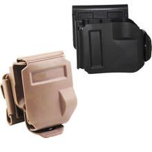 Тактическая кобура с зажимом для пистолета molle glock 17 19