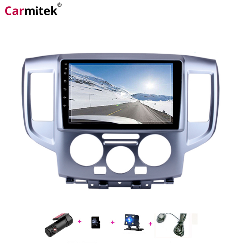Carmitek 2 Din Car Radio GPS Multimedia Player For NISSAN NV200 2009 2010 2011 2012 2013 2014 2015 2016 Wifi Bluetooth Autoradio