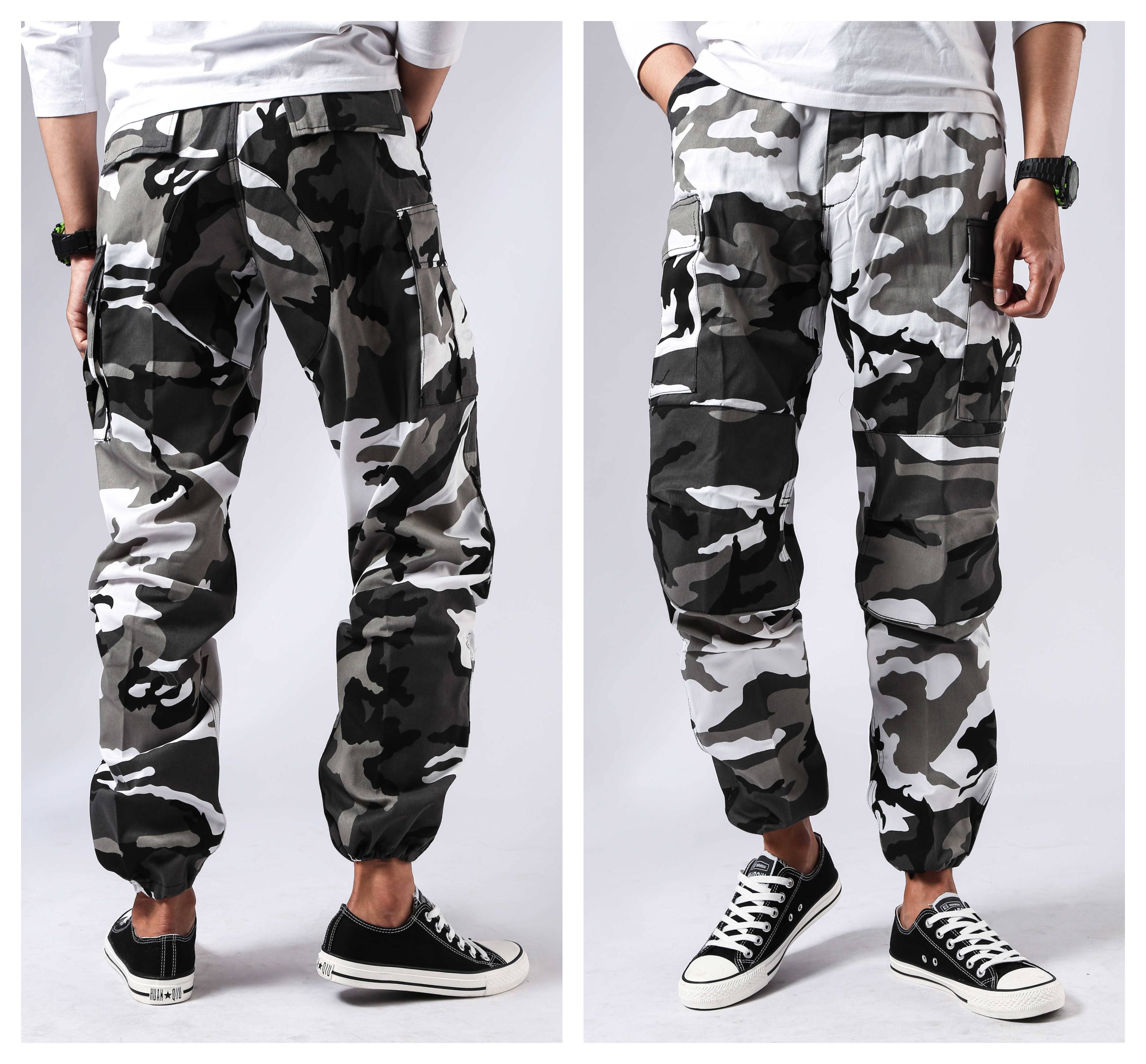 Image 4 - Mens Military Army Combat BDU Pants Work Casual Camouflage Fashion Cargo Pants-in Cargo Pants from Men's Clothing