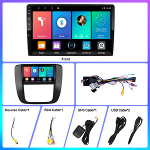 Image 5 - 2.5D 9 Inch Android 8.1 Car Multimedia Video Audio FM BT GPS Navigation Player For GMC Yukon Chevrolet Tahoe Suburban 2007 2012