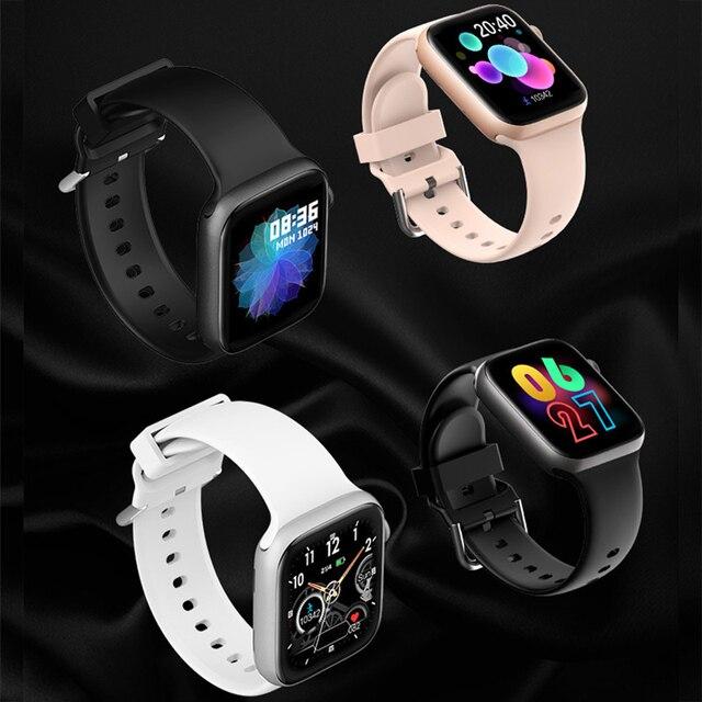 T500 Smart Watch Bluetooth Call Fitness Tracker Heart Rate Full Touch Smartwatch Men & Women Music Control Sport Watch IWO 6