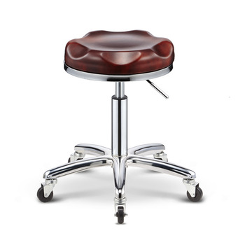 Chair Worker Stool Haircut Chair Cosmetology Stool Lift Rotating Bar Counter Chair Round Stool Beautiful A Stool Makeup Chair