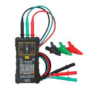 MS5900 120V-400VAC трехфазный индикатор вращения измеритель последовательности фазы тестер M17E
