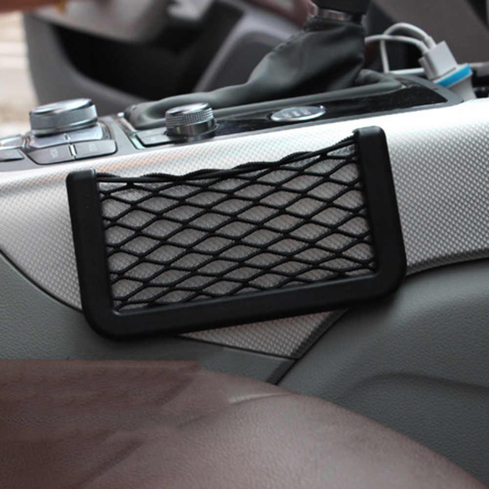 Bagasi Mobil Kotak Penyimpanan Tas Mesh Net Untuk Audi A4 B5 B6 B8 A3 A5 A6 Q5 Q7 BMW E30 e34 E36 E39 E46 E90 E60 F10 F30 Organizer
