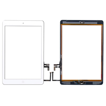 10Pcs Touch Screen For iPad 5th A1822 A1823 Digitizer Outer Panel Front Glass With home button +cable 1