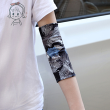 Unisex summer elbow support thin section high elasticity sports fitness joint protection scar tattoo warmth