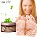 Auquest pé creme antifúngico coceira anti-chapeamento bolhas peeling pé pele profunda-reparação hidratante suave suave cuidados com os pés
