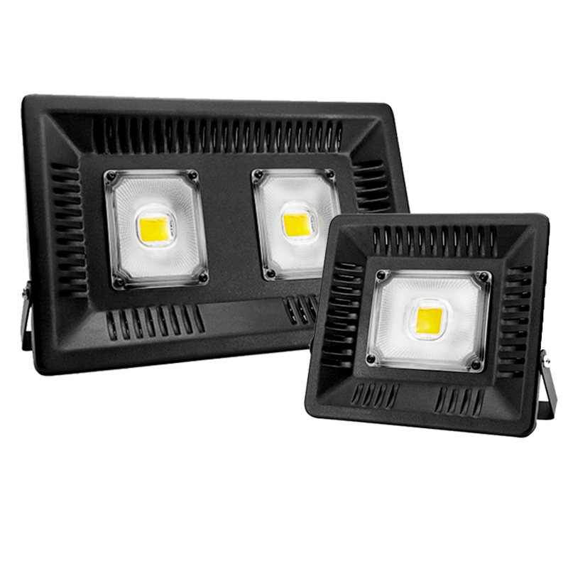 Led Flood Light Spotlight AC 220V 240V Floodlight 30W 50W 100W Waterproof IP65  Outdoor Lighting Wall Lamp LED Flood Light