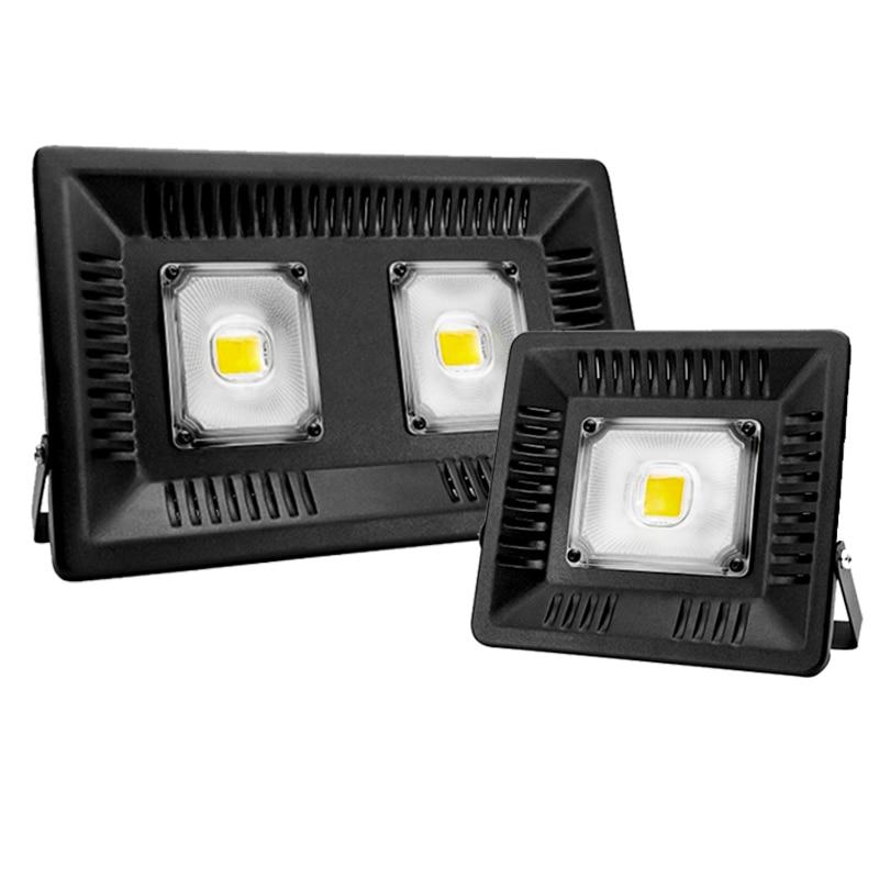 Led Flood Light Spotlight AC 220V 240V Floodlight 30W 50W 100W Waterproof IP65  Outdoor Lighting Wall Lamp LED Flood Light