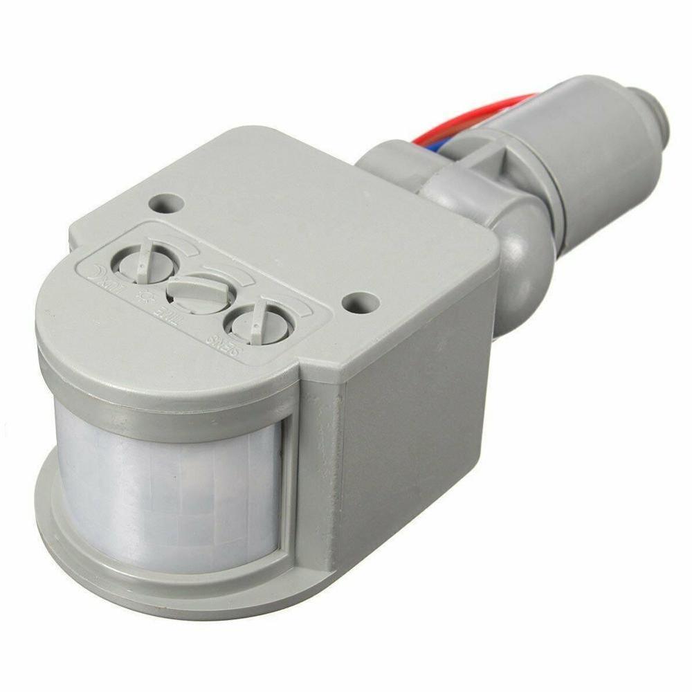 180 ° LED 110-220V czujnik podczerwieni czujnik ruchu PIR Motion światła światło zewnętrzne naścienny czujnik ruchu ściany T2Q5
