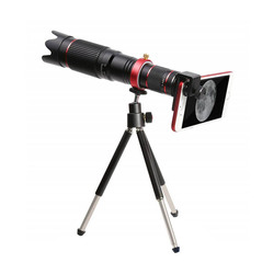 ABKT-Bluetooth Zoom Telescope Mobile Phone Lenses Universal 4K Hd 36X Single Focus Optic Lens For Iphone Huawei Camera Lens