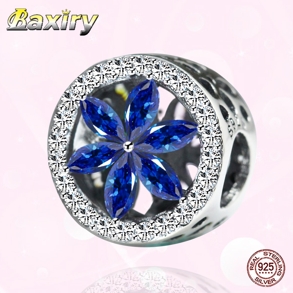 DIY Jewelry Making Openwork CZ Charm Beads 925 Sterling Silver Fit Pandora 925 Original Charms Bracelet Fine Bead 2020 New Style