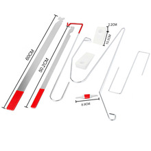 9pcs Universal Car Lock Out Emergency Tool Kit Unlock Door Open Tool Special Car Repair Tools Auto Door Maintenance Tools